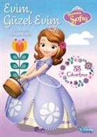 Disney Prenses Sofia Evim, Güzel Evim Çıkartmalı Faaliyet Kitabı