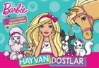 Barbie Hayvan Dostlar - Çıkartmalı Boyama Kitabı