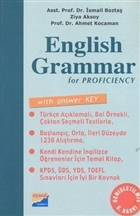 English Grammar for Proficiency With Answer Key / Answer Key (Cevap Anahtarı)