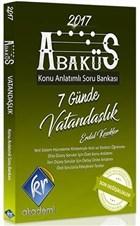 2017 KPSS Abaküs Vatandaşlık Konu Anlatımlı Soru Bankası
