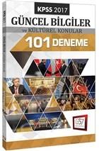 2017 KPSS Güncel Bilgiler ve Kültürel Konular 101 Deneme
