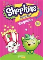 Shopkins Cicibiciler Boyama - Pembe Kitap 1