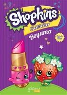 Shopkins Cicibiciler Boyama -  Mor Kitap