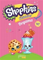 Shopkins Cicibiciler Boyama - Pembe Kitap 2