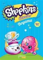 Shopkins Cicibiciler Boyama - Mavi Kitap