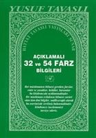 Açıklamalı 32 ve 54 Farz Bilgileri (C11)