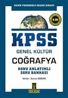 KPSS Genel Kültür Coğrafya Konu Anlatımlı Soru Bankası
