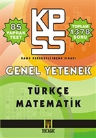 KPSS Genel Yetenek Yaprak Test Türkçe - Matematik