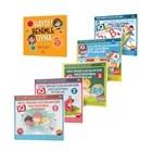 Okul Öncesi Çocuklar İçin IQ Zeka Geliştiren Oyunlar (6 kitap)