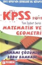 KPSS Tam İsabet Matematik ve Geometri Soru Bankası 2015