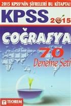 2015 KPSS Coğrafya 70 Deneme Seti