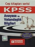 KPSS Anayasa ve Vatandaşlık Bilgileri Cep Kitapları Serisi