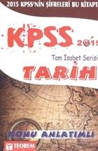 KPSS Tam İsabet Tarih Konu Anlatımlı 2015