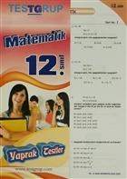 12. Sınıf Matematik Yaprak Testler