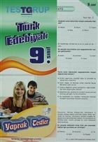 Test Grup 9. Sınıf Türk Edebiyatı Yaprak Testler