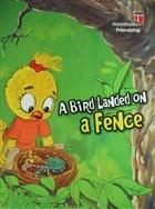 A Bird Landed on a Fence - Freindship