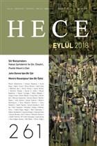 Hece Aylık Edebiyat Dergisi Yıl: 22 Sayı: 261 Eylül 2018