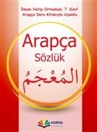 Arapça Sözlük 7. Sınıf