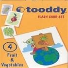 Flash Card Set: 4 (Fruit - Vegetables / Meyveler - Sebzeler)