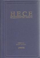 Hece Aylık Edebiyat Dergisi Mektup Özel Sayısı: 31/2006 - 114 / 116 (Ciltli)