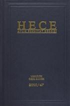 Hece Aylık Edebiyat Dergisi Yerlilik Özel Sayısı: 20 / 162 -163 - 164 (Ciltli)