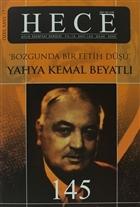 Hece Aylık Edebiyat Dergisi Yahya Kemal Beyatlı Özel Sayı: 17 - 145 (Ciltsiz)