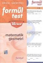 Formül 10. Sınıf Matematik Geometri Testleri (Yaprak Testler)