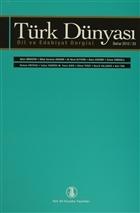 Türk Dünyası Dil ve Edebiyat Dergisi Sayı: 33 Bahar 2012