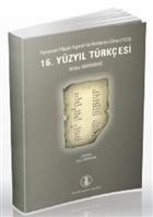 16. Yüzyıl Türkçesi