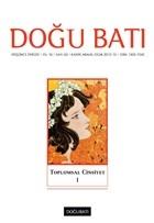 Doğu Batı Düşünce Dergisi Sayı: 63 Toplumsal Cinsiyet
