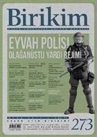 Birikim Aylık Sosyalist Kültür Dergisi Sayı: 273