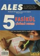 2015 ALES - Akademik Personel ve Lisansüstü Eğitimi Giriş Sınavı 5 Fasikül Çözümlü Deneme
