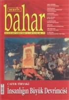Berfin Bahar Aylık Kültür, Sanat ve Edebiyat Dergisi Sayı : 103