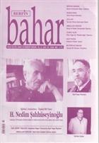 Berfin Bahar Aylık Kültür, Sanat ve Edebiyat Dergisi Sayı : 107