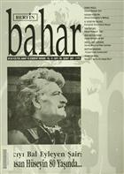Berfin Bahar Aylık Kültür, Sanat ve Edebiyat Dergisi Sayı : 108