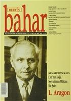 Berfin Bahar Aylık Kültür, Sanat ve Edebiyat Dergisi Sayı : 109