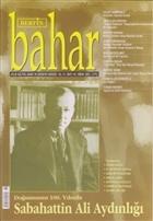 Berfin Bahar Aylık Kültür, Sanat ve Edebiyat Dergisi Sayı : 110