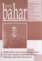Berfin Bahar Aylık Kültür, Sanat ve Edebiyat Dergisi Sayı : 112