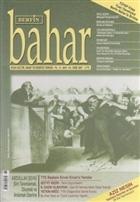 Berfin Bahar Aylık Kültür, Sanat ve Edebiyat Dergisi Sayı : 116