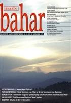 Berfin Bahar Aylık Kültür, Sanat ve Edebiyat Dergisi Sayı : 124