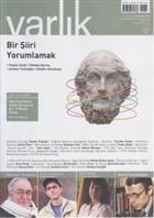 Varlık Aylık Edebiyat ve Kültür Dergisi Sayı: 1267 - Nisan 2013