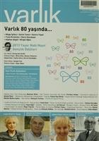 Varlık Aylık Edebiyat ve Kültür Dergisi Sayı: 1270 - Temmuz 2013