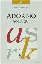 Adorno Sözlüğü