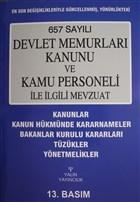657 Sayılı Devlet Memurları Kanunu ve Kamu Personeli ile İlgili Mevzuat