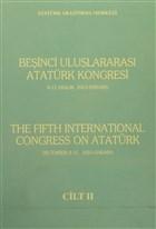 Beşinci Uluslararası Atatürk Kongresi (The Fifth İnternational Congress On Atatürk) Cilt 2