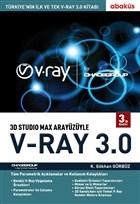 3D Studio Max Arayüzüyle V-Ray 3.0