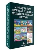 4-10 Yaş ve Üstü Çocuklar İçin Zeka Geliştiren Oyunlar (9 Kitap)