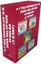 4-7 Yaş Çocuklar İçin Zeka Geliştiren Oyunlar (5 Kitap)