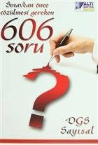 DGS Sayısal - Sınavlardan Önce Çözülmesi Gereken 606 Soru