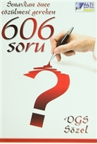 DGS Sözel - Sınavlardan Önce Çözülmesi Gereken 606 Soru